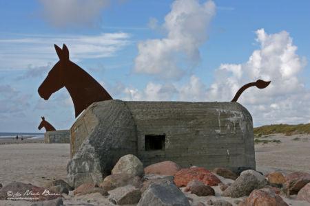 Maulesel Skulpturen