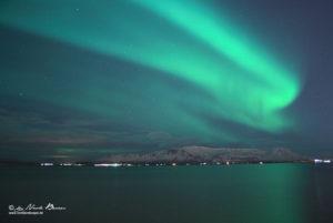 Polarlicht-Reykjavik